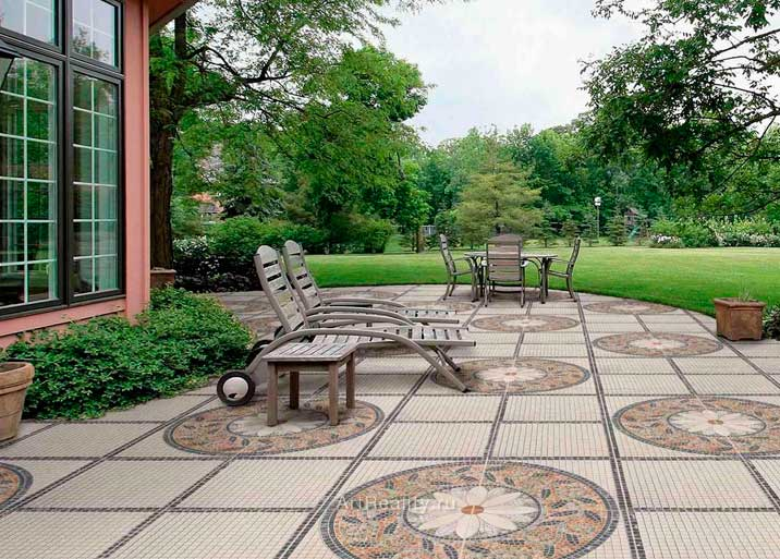 Baldosas para exteriores simple azulejos para baos dikidu for Precio de baldosas para patio