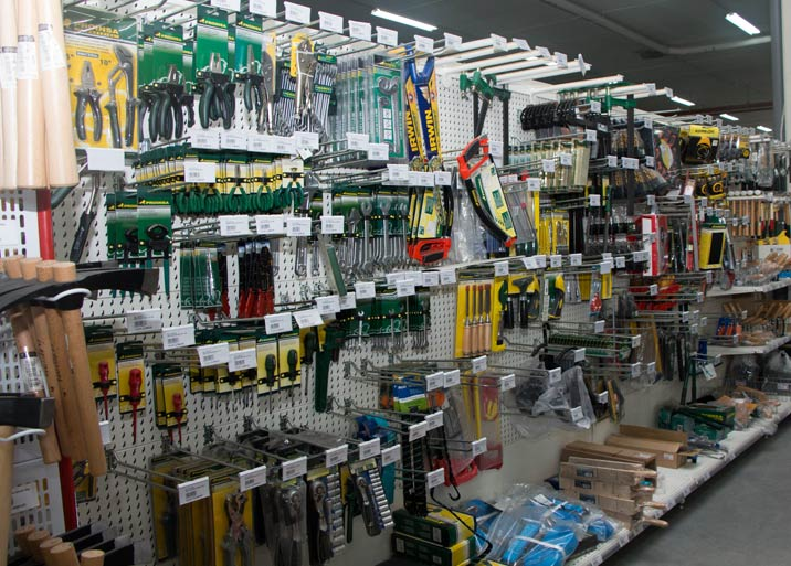 Amplia variedad de herramientas en Buenavista