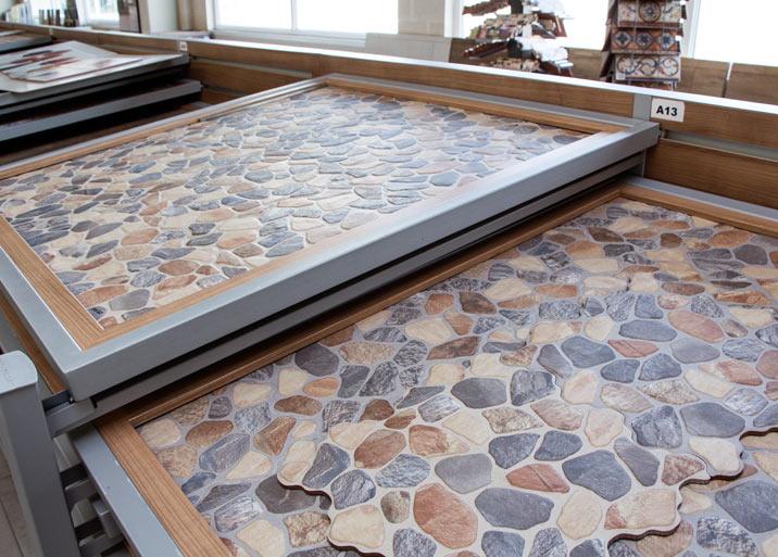 Azulejos efecto piedras para exterior en Materiales de Construcción Buenavista