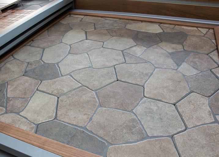 Azulejo de piedra great azulejos para baos imitacion for Azulejos pared exterior