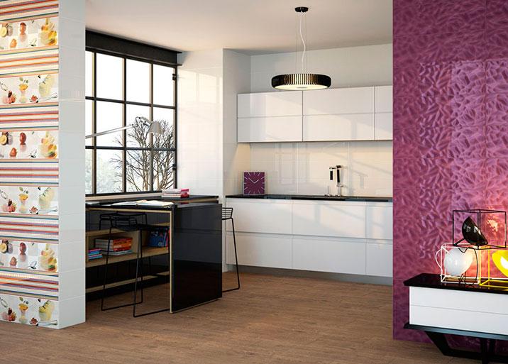 Azulejos cocina decoracin hogar renueva la cocina - Tapar azulejos cocina ...