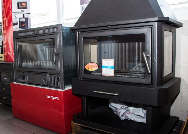 Amplia variedad de modelos en radiadores, chimeneas y estufas en MC Buenavista