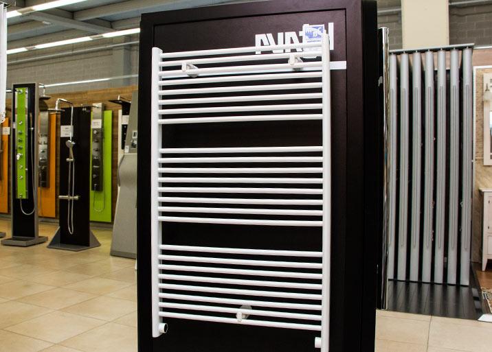 Distintos modelos y colores en radiadores, estufas y chimeneas en MC Buenavista