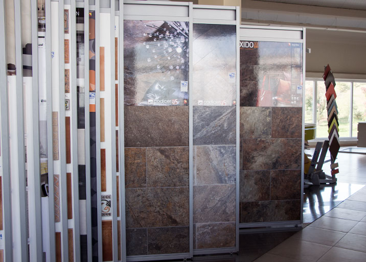 Gran variedad de azulejos para exterior en MC Buenavista