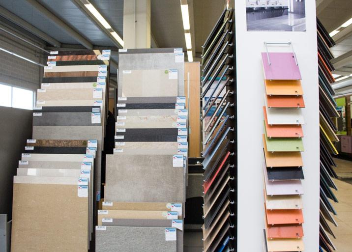 Gran variedad de colores y acabados en azulejos en MC Buenavista