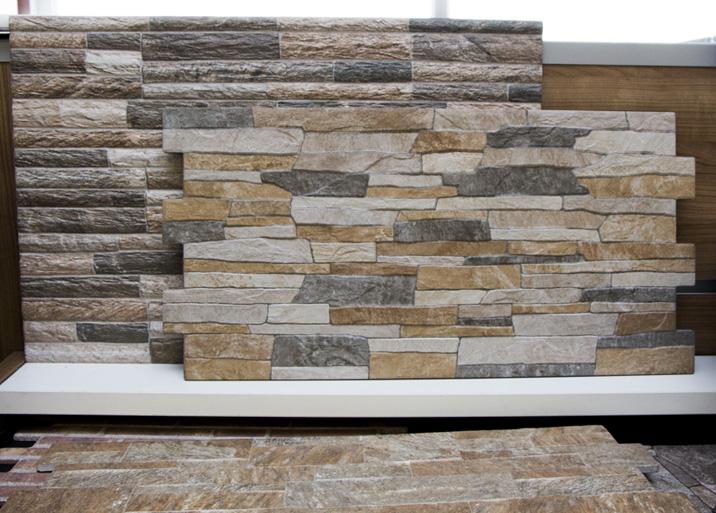 Seleccion material piedra en el outlet de Materiales de Construcción Buenavista