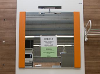 Oferta de espejos en el outlet de Materiales de Construcción Buenavista